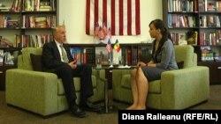 La interviul acordat la amabsada americană de la Chișinău