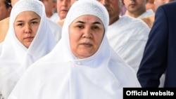 Азизамо Рахмонова, жена президента Таджикистана Эмомали Рахмона.