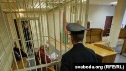 Падчас судовага працэсу над АЛесем Бяляцкім, 2 лістапада 2011 году