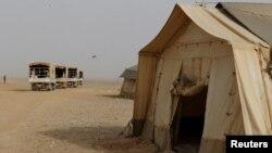 Кампот Ракбан, во чија близина е извршен нападот