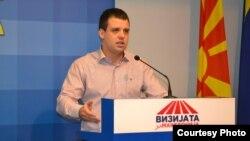 Стефан Богоев, претседател на Социјал демократската младина на Македонија(СДММ)