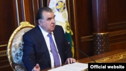 The Tajik president has been accused of rights violations.