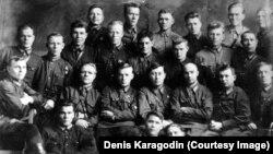 НКВД курсанттары. Новосибирск, 1930 жыл.