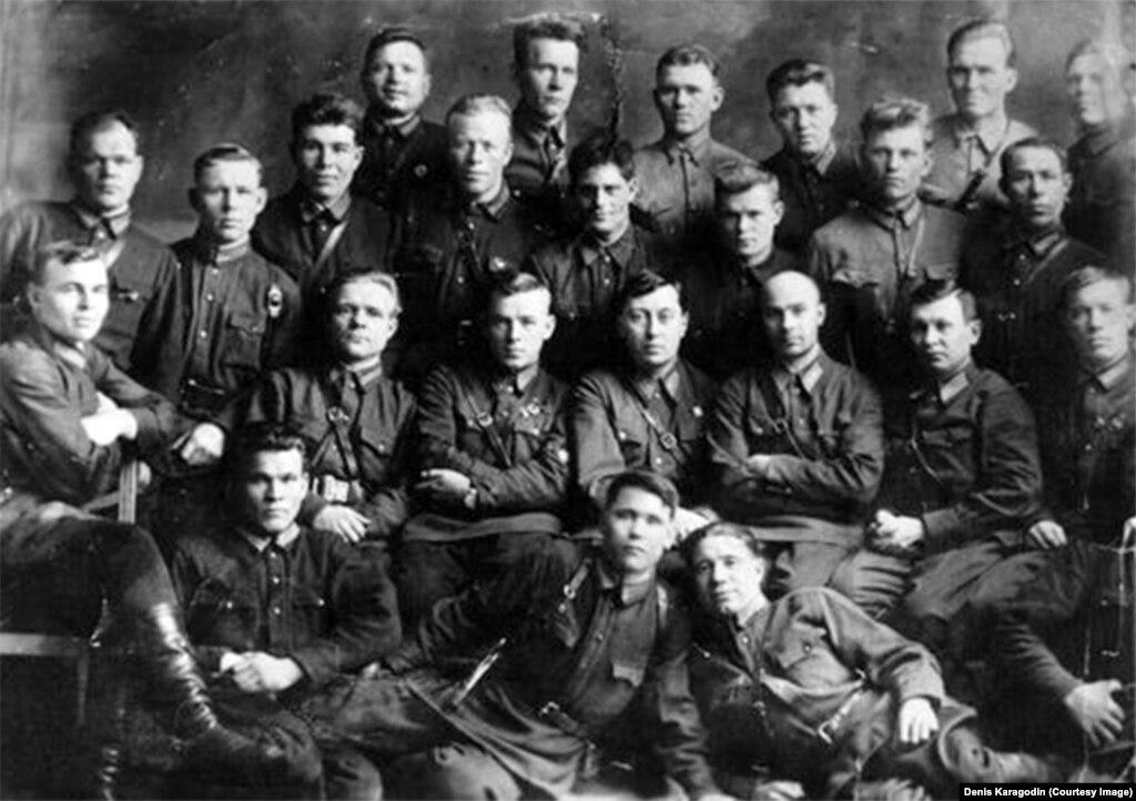 Курсанты НКВД, 1930 год, Новосибирск