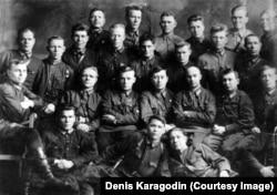 Cотрудники и курсанты учебных курсов НКВД в Новосибирске, 1930-е годы