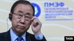 بان کی مون سرمنشی سازمان ملل متحد