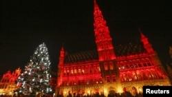 Центральна Велика площа у Брюсселі, фото 7 грудня 2015 року
