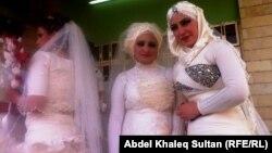 عرائس في حفل زواج جماعي
