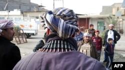 افراد مسلح سنی در شهر رمادی