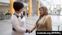 Валерия Лутковская и Татьяна Москалькова