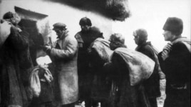 "A scene from the great famine in 1933, known among Ukrainians as the ""Holodomor."""