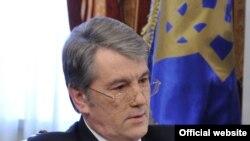 Колишній президент України Віктор Ющенко, 2010 рік