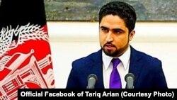طارق آرین، سخنگوی وزارت داخله افغانستان