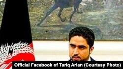 طارق آرین سخنگوی وزارت داخله افغانستان