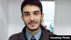 Youth activist Mehemmed Mirzali (Mahammad Mirzeli)