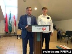 Андрэй Дзьмітрыеў і Тацяна Караткевіч