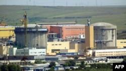 Vedere a centralei de la Cernavodă