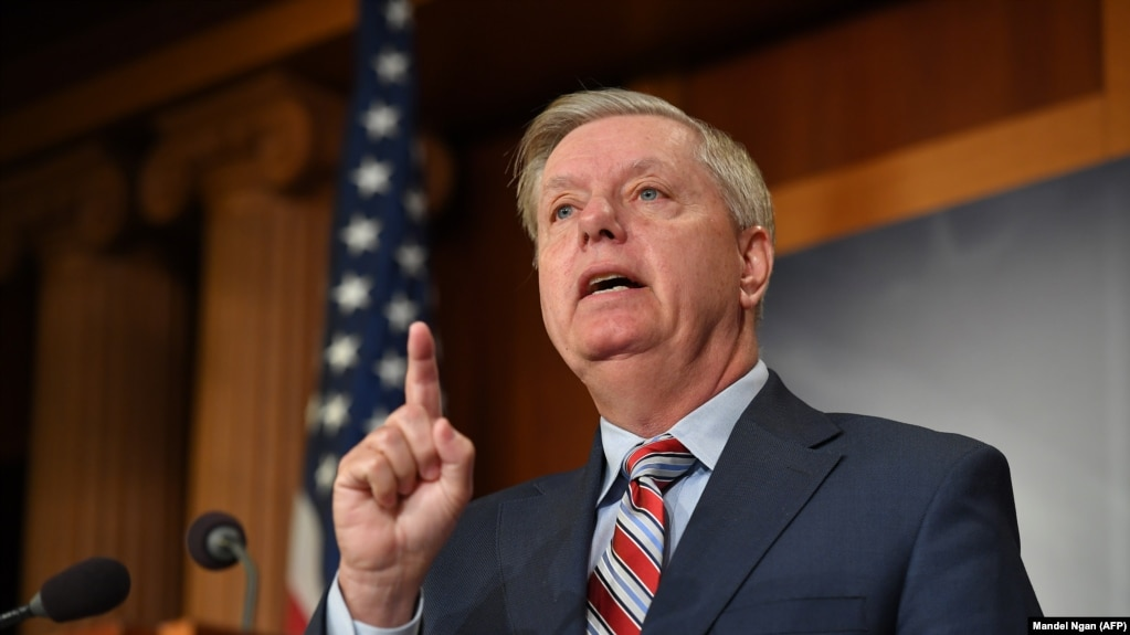 Senate Judiciary Committee Chairman Lindsey Graham, R-SC, March 25, 2019. FILE PHOTO