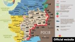 Ситуація в зоні бойових дій на Донбасі, 24 квітня 2015 року