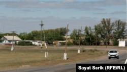 Қарағанды облысындағы ауылдардың бірі. Көрнекі сурет.