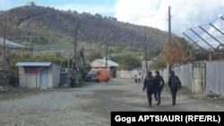 კონფლიქტის ზონა, სოფელი დვანი