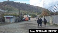 სოფელი დვანი, კონფლიქტის ზონა