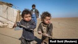 Deca sirijskih izbeglica