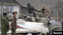 На месте катастрофы СУ-27СМ под Владивостоком