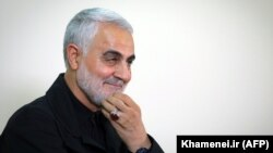 Ирандық генерал Касем Сулеймани.