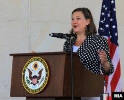 Вікторія Нуланд: США вітають майбутнє створення «Кримської платформи»