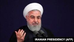 Iranian President Hassan Rohani (file photo)