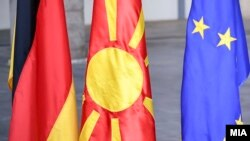 Северна Македонија, Германија, ЕУ