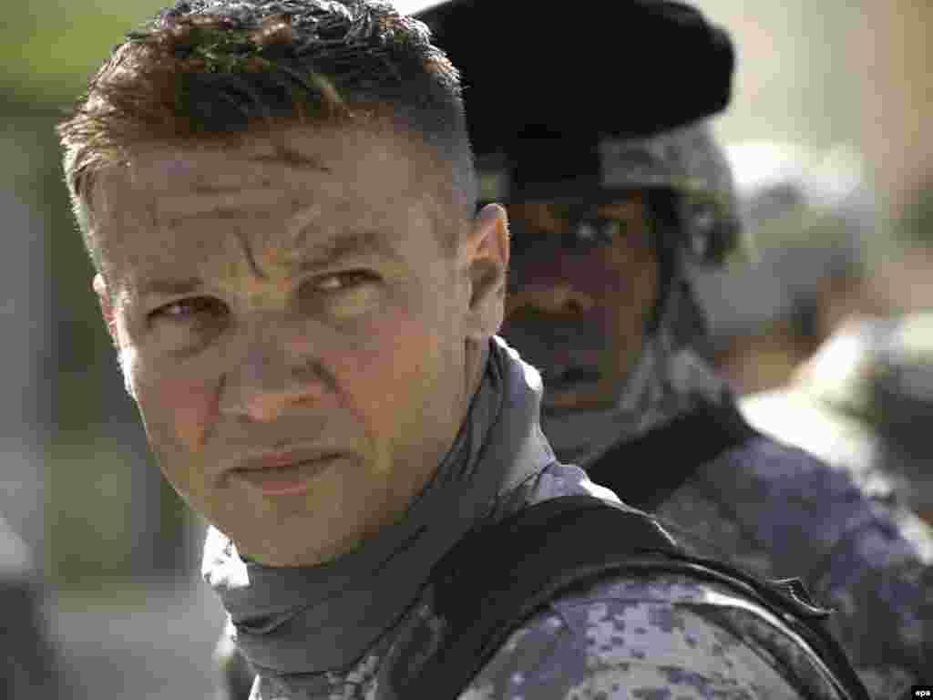 Glumac Jeremy Renner u filmu 'The Hurt Locker'