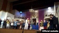"""Musiqili Teatr Üzeyir Hacıbəylinin məşhur """"Ər və arvad"""" ikihissəli musiqili komediyasını təqdim edib."""