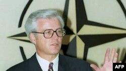 Churkin as ambassador to Belgium in 1995