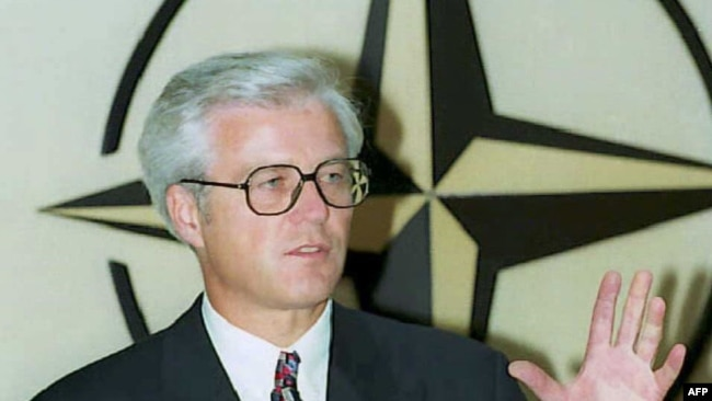 Churkin as ambassador to Belgium in 1995