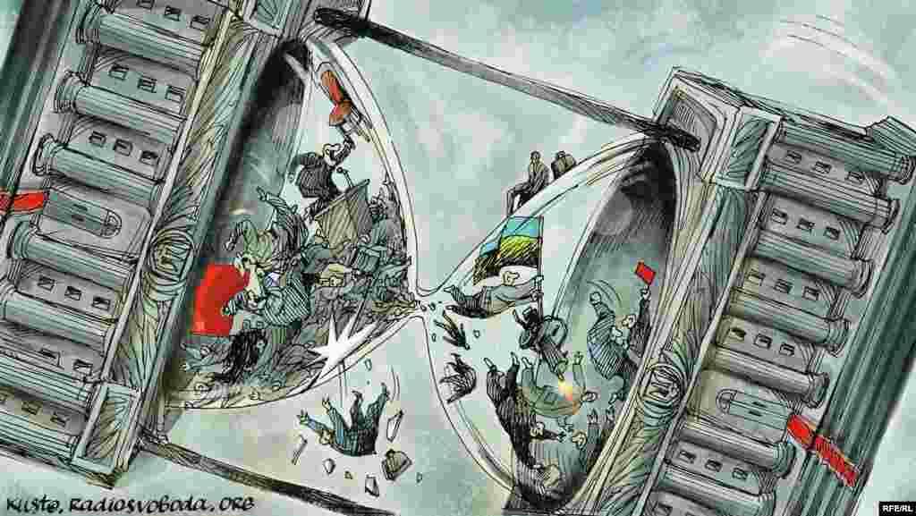 Автор: Олексій Кустовський Інтерв'ю з карикатуристом