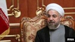 İranın prezidenti Hassan Rohani.