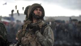 Украина ұлттық гвардия сарбазы. 2 мамыр 2014 жыл. (Көрнекі сурет)