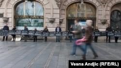 """Arhivski snimak: Jedan od protesta """"Žena u crnom"""""""