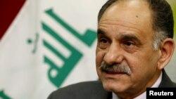Iraqi Deputy Prime Minister Salih al-Mutlaq (file photo)