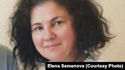 Правозащитник из города Павлодара Елена Семенова.