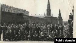 Активисты крымскотатарского национального движения в Москве. 1965 год