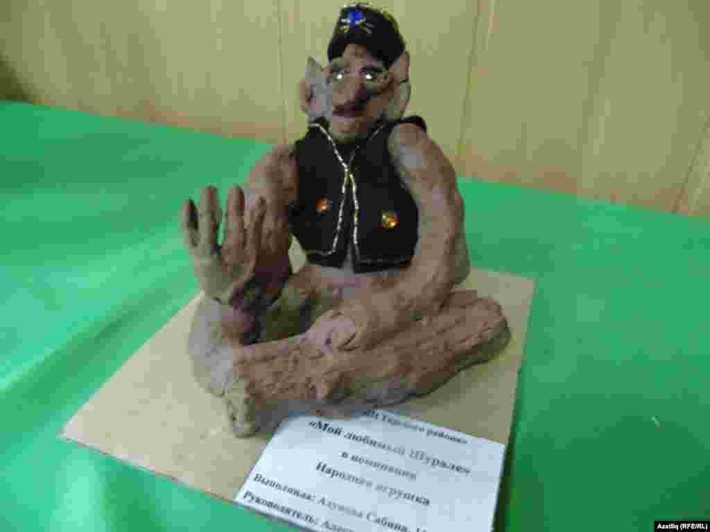 Сабина Ахунова эше - пластилиннан эшләнгән шүрәле