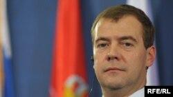 Presidenti Dimitri Medvedev, Beograd 20 tetor 2009.