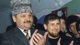 Кадыров Ахьмад а, Кадыров Рамзан а