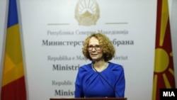 Архива - министерката за одбрана Радмила Шекеринска.