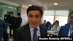 Ерлан Кожагапанов, председатель ФФК. Астана, 21 ноября 2015 года.