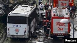 İstanbuldakı son bomba hücumundan kadr