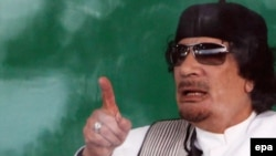 "Libyan leader Muammar Qaddafi was said to have made ""thuggish"" threats."